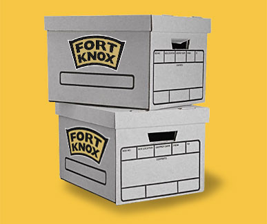 Order your supplies in advance with Fort Knox Storage and Moving and we'll have them ready for you.